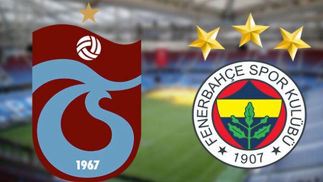 Trabzonspor-Fenerbahçe maçı hangi kanalda canlı yayınlanıyor?
