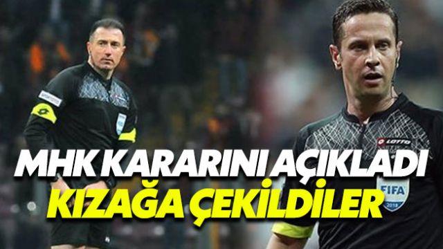 Galatasaray'ın başını yakan iki isim kızağa çekildi