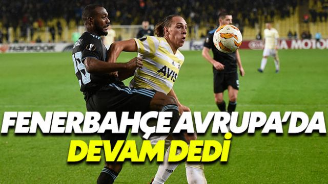 Fenerbahçe 0-0 Dinamo Zagreb MAÇ ÖZETİ