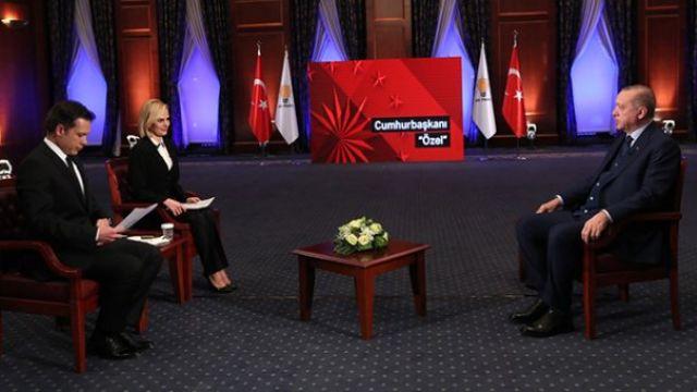 Erdoğan'dan anket iddialarına cevap