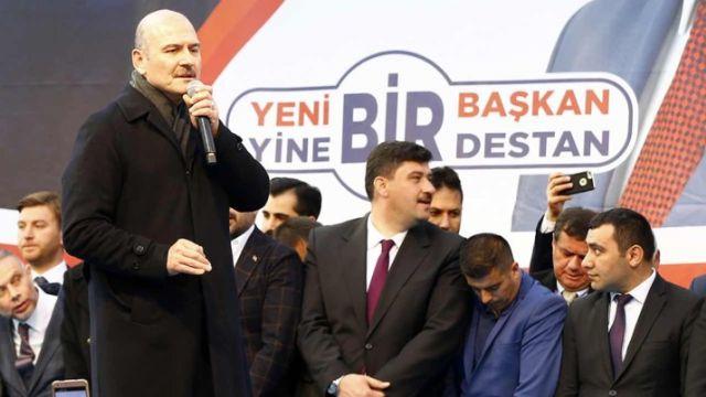 Süleyman Soylu'dan İmamoğlu'na eleştiri