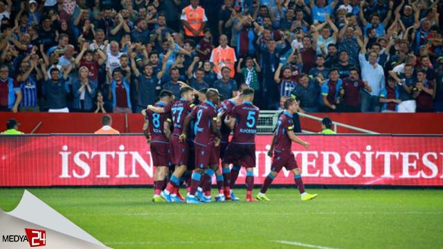 Trabzonspor turladı: 2-1