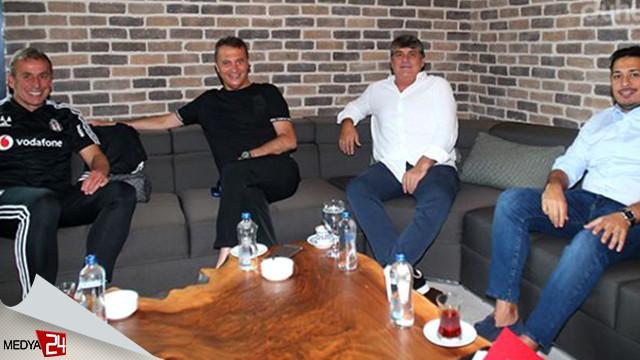 Cenk Tosun ve Yevhen Konoplayanka Beşiktaş'ta