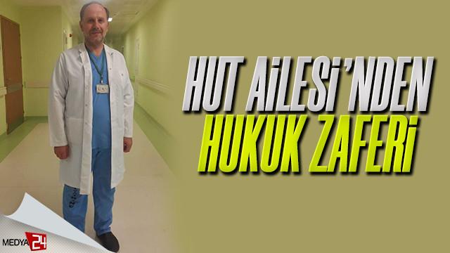 Kendisine iftira atılan Dr. Adnan Hut'tan hukuk zaferi