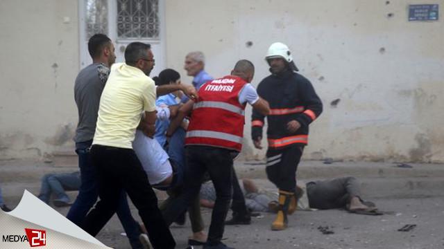 Nusaybin'den acı haber! 8 şehit 35 yaralı