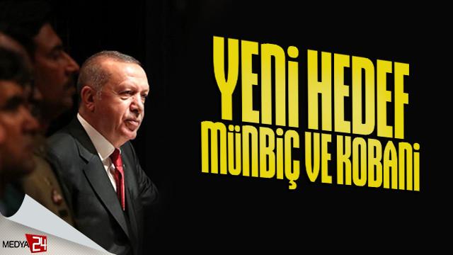 Erdoğan'dan Münbiç ve Kobani açıklaması!