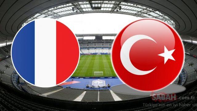 Fransa Türkiye 1-1 geniş özet izle