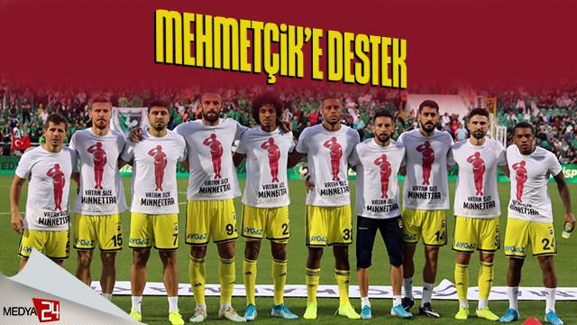 Fenerbahçe'den Mehmetçik'e destek