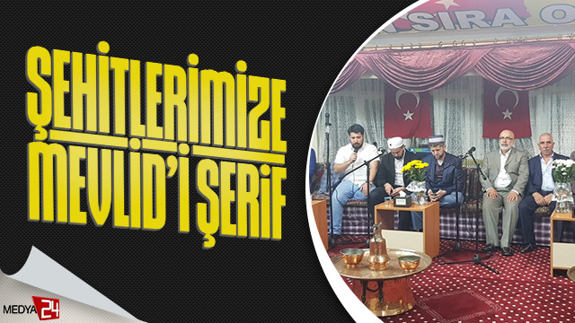 Şanlıurfa 11 Nisan Sıra Odası'ndan Barış Pınarı Harekatı'ndaki şehitlerimize mevlid'i şerif