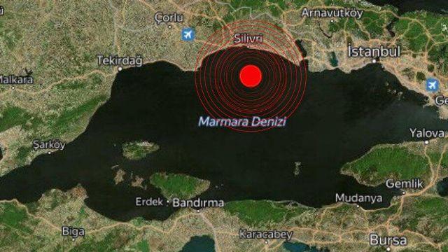 İstanbul'da 3,2 büyüklüğünde deprem