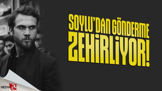Süleyman Soylu'dan Çukur dizisine şok açıklama