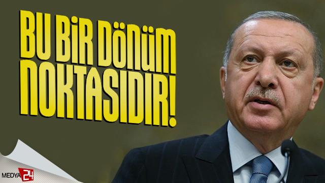 Erdoğan'dan sosyal medya üzerinden açıklama!