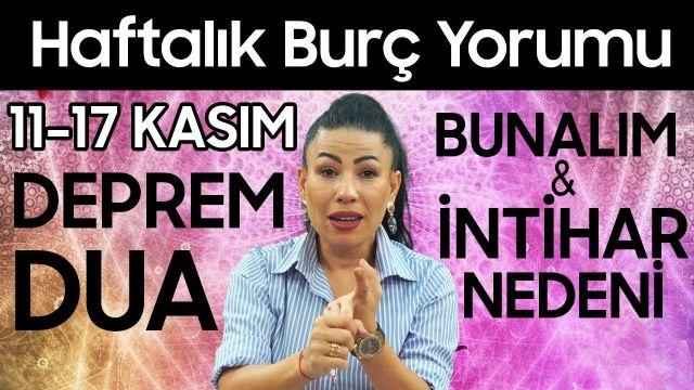 Nurcan Vecigün 11-17 Kasım Haftalık Burç Yorumları