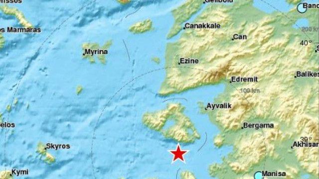 İzmir'de 6.2 şiddetinde deprem
