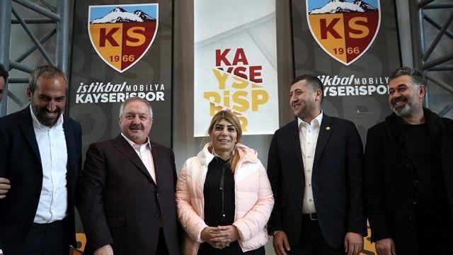 Süper Lig tarihinde ilk kadın başkan Kayserispor'dan