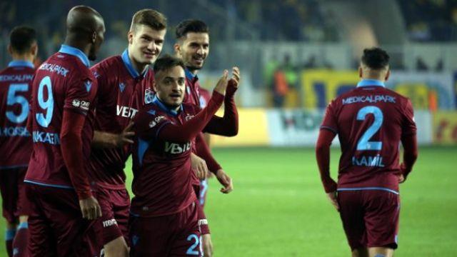 Trabzonspor emin adımlarla zirveye: 0-3