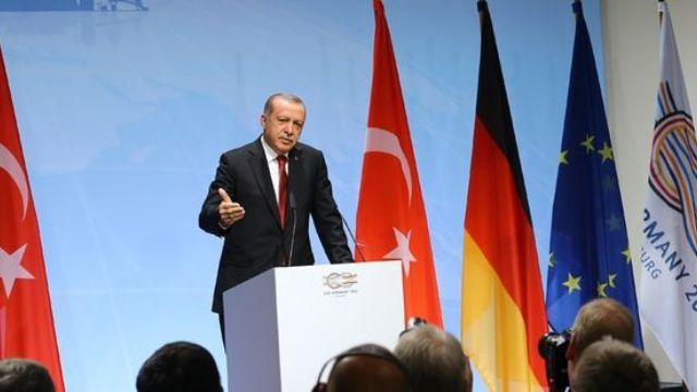 Cumhurbaşkanı Erdoğan, G20 zirvesinde esti gürledi