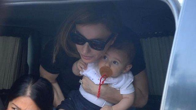 Gülşen ailecek uçak kazası atlattı