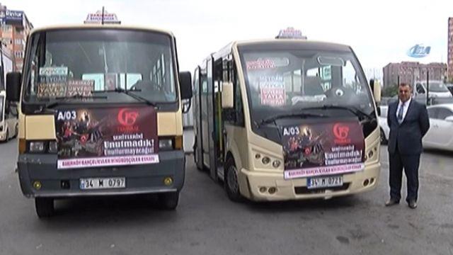 Bakırköy-Bağcılar minibüsleri 15 Temmuz'da bedava