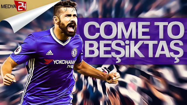 'Come to Beşiktaş' tişörtleri 50 lira