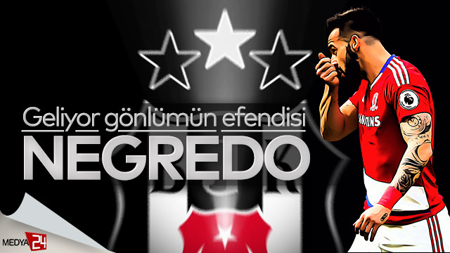 Alvaro Negredo adım adım Beşiktaş'a