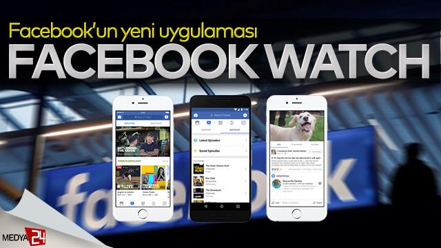 """Facebook'tan """"Facebook Watch"""" uygulaması geliyor"""