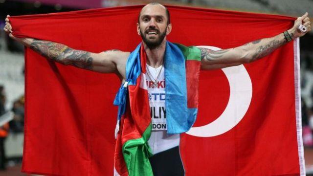 Ramil Guliyev Londra'da dünya şampiyonu