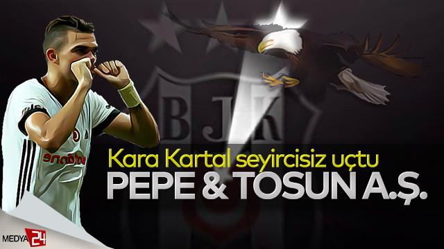 Şampiyon Beşiktaş 'Tosun' gibi: 2-0