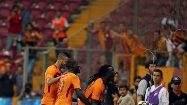 Galatasaray'da Gomis bambaşka kükredi: 4-1