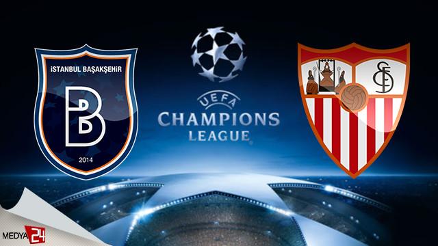 Başakşehir Sevilla maçı ne zaman şifresiz hangi kanalda