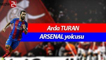 Arda Turan 30 milyon Euro'ya Arsenal'de