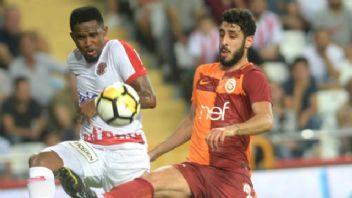 Lider Galatasaray'ı Eto'o durdurdu: 1-1