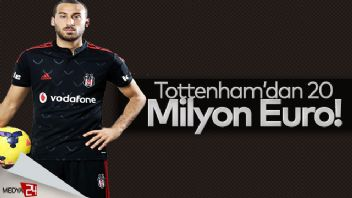 Tottenham'dan Cenk Tosun'a 20 milyon Euro
