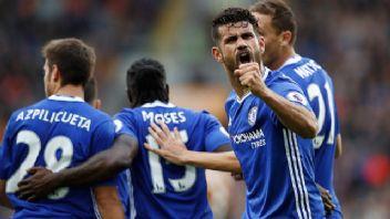 Diego Costa resmen Atletico Madrid'de