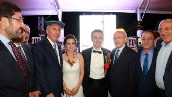 Kılıçdaroğlu, İnce'nin düğününe katıldı