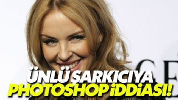 Kylie Minogue'a photoshop iddiası