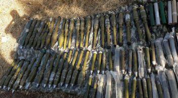 PKK'nın toprağa gömülü cephanesi ele geçirildi