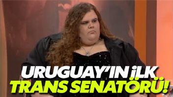 Uruguay'ın, ilk transeksüel senatörü seçildi