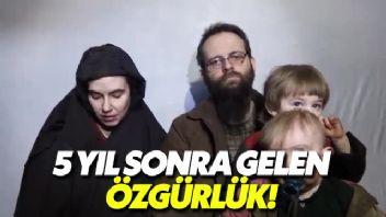 ABD'li aile, militanlardan kurtarıldı