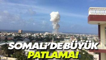 Somali'de bomba yüklü kamyon patladı