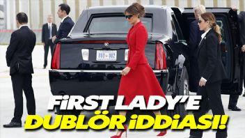 Melania Trump'a Dublör iddiası
