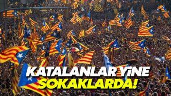 Katalanlardan özerkliğin feshine tepki