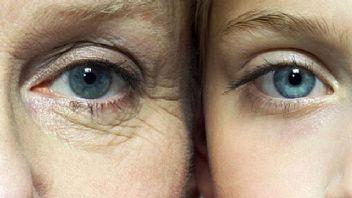 Yüzde ilk yaşlanma belirtilerini gözler veriyor