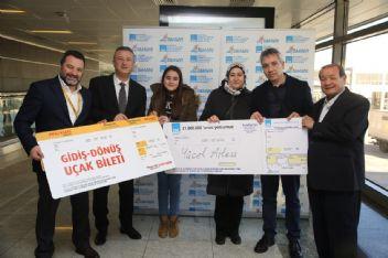 Sabiha Gökçen Hava limanı 31 milyonuncu yolcusunu karşıladı