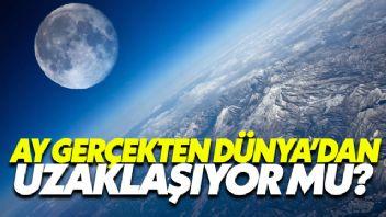 Ay Gerçekten Dünya'Dan Uzaklaşıyor Mu?