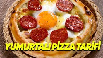 Yumurtalı Pizza Tarifi
