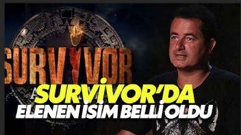 Survivor'Da Elenen İsim Belli Oldu