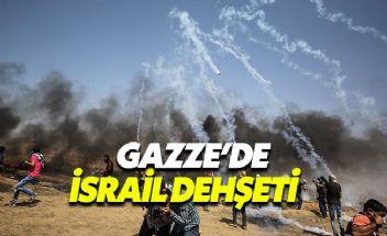 Filistin'de bilanço ağırlaşıyor 52 sivil hayatını kaybetti