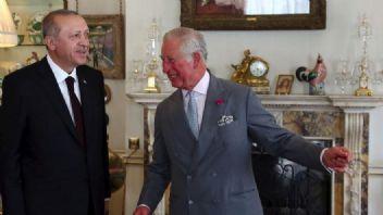 Erdoğan, Prens Charles'la bir araya geldi