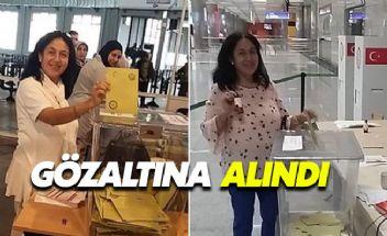 İki kez oy kullanan vatandaş gözaltına alındı